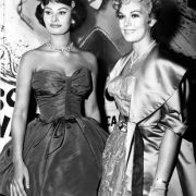 Sophia Loren and Kim