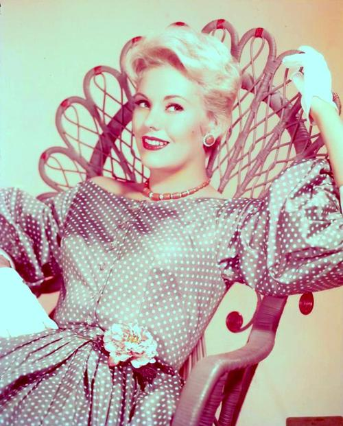 Vintage actress Kim Novak
