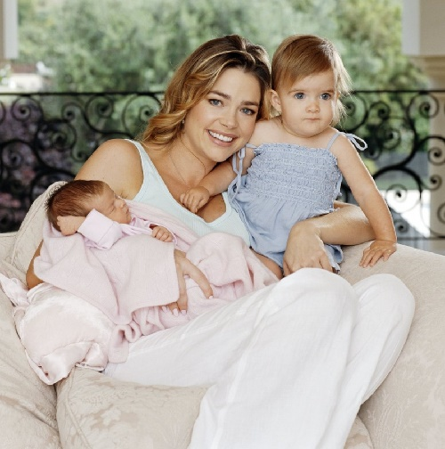 Mother of three daughters Denise Richards