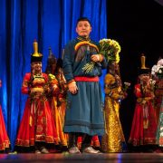 February 2016 festive concert of Buryat people