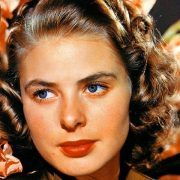 Hollywood star Ingrid Bergman