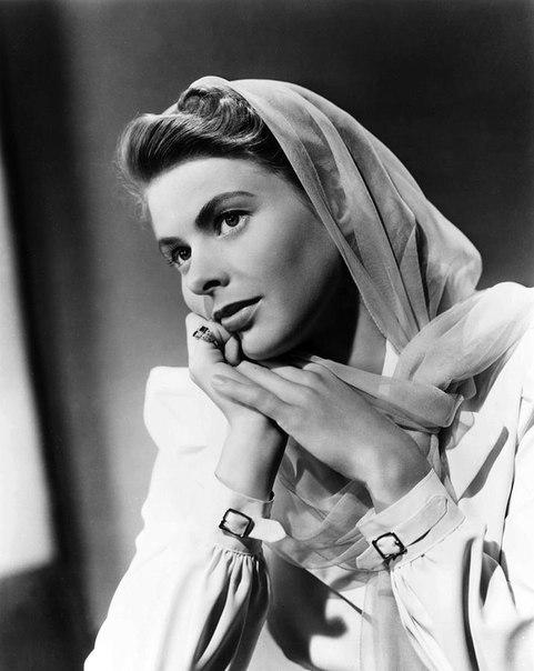 Legend of cinema, Ingrid Bergman