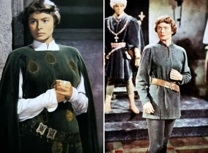 Stills from the film 'Jeanne D'Arc', 1948