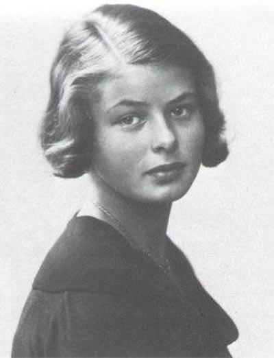 Swedish Young actress Ingrid