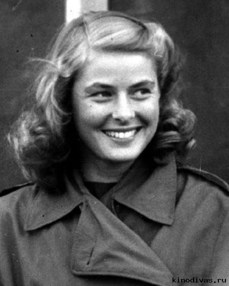 Young actress Ingrid Bergman