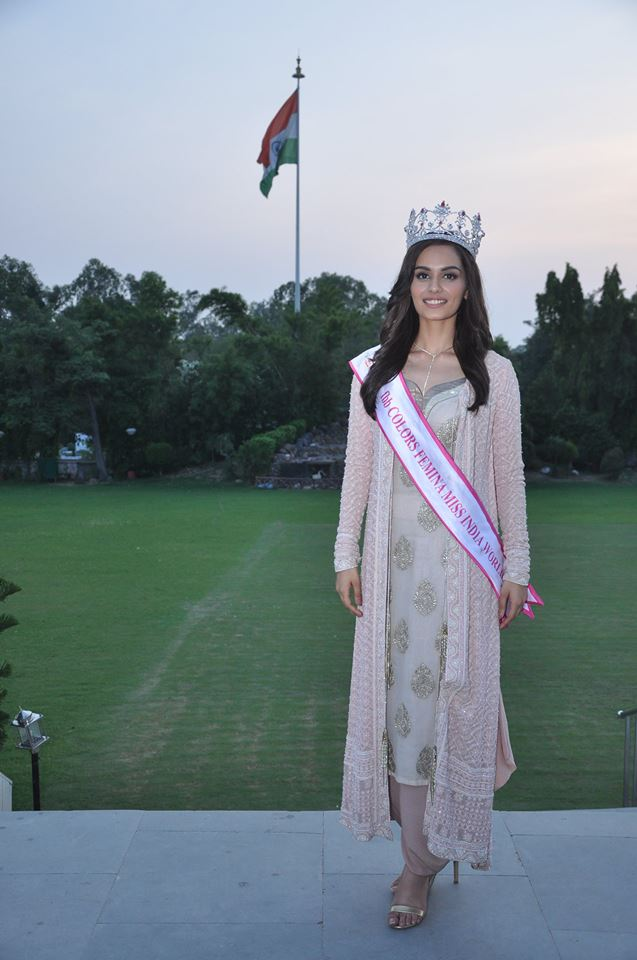 Representing India at Miss World 2017