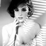 Film actress Gina Lollobrigida