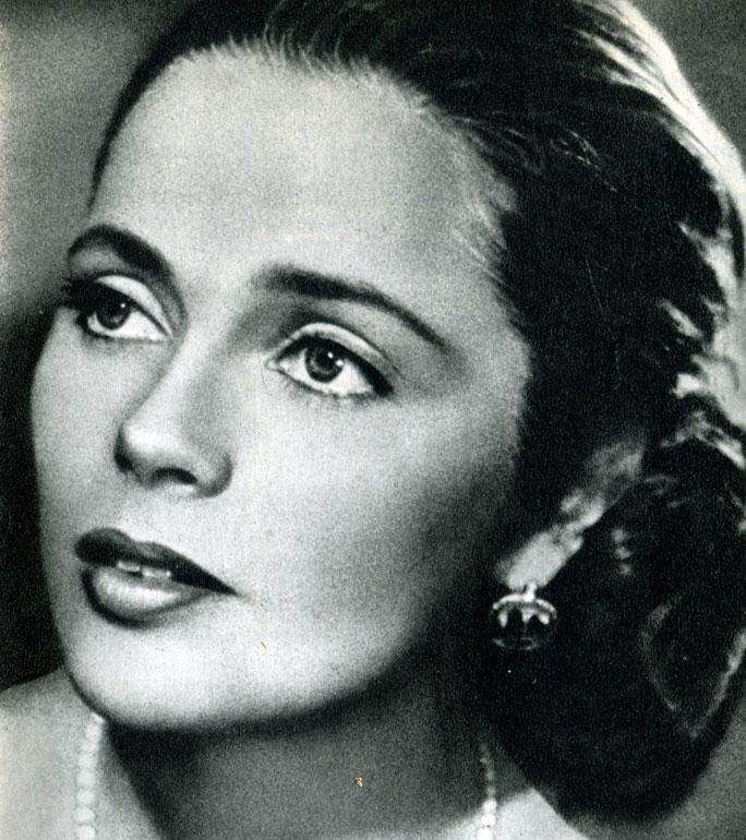 Gorgeous actress Ulla Jacobsson Rohsmann