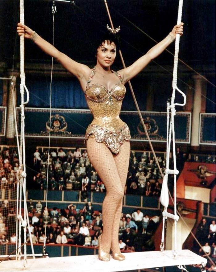 Circus gymnast Gina