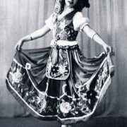 Lolita began dancing at age 7 and at 12 already debuted at the theater