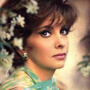 Stunningly beautiful Italian actress Gina Lollobrigida
