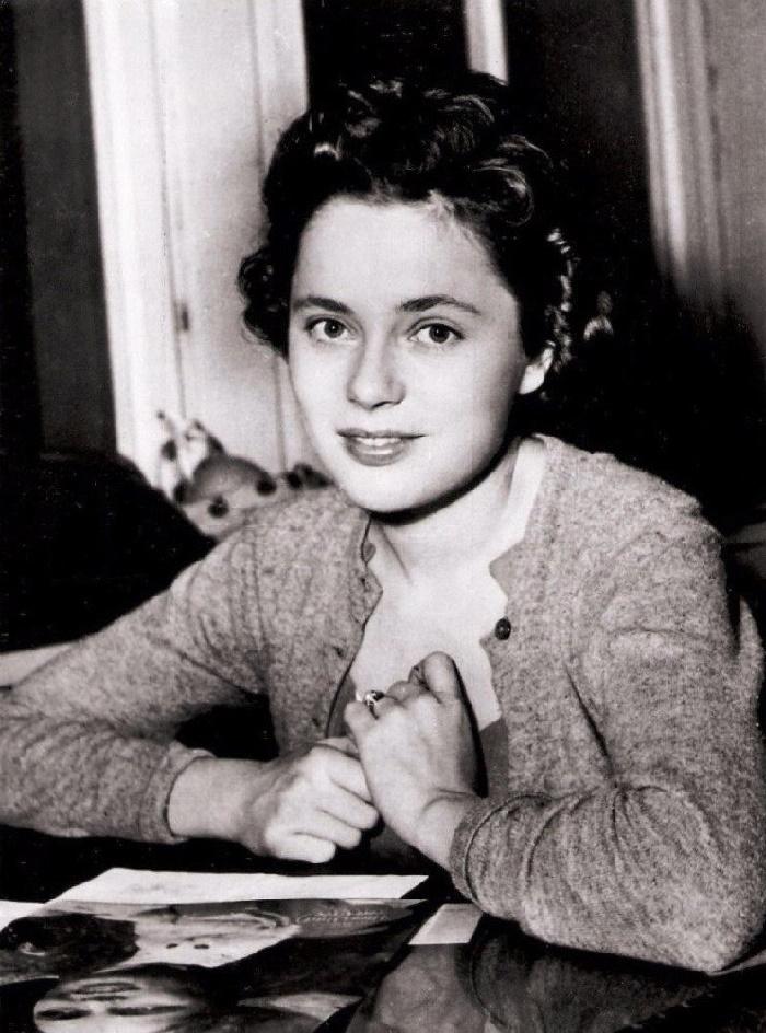 Swedish actress Ulla Jacobsson Rohsmann