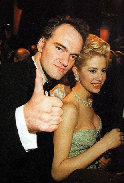 Tarantino and Mira at the 68th Academy Awards, 1996
