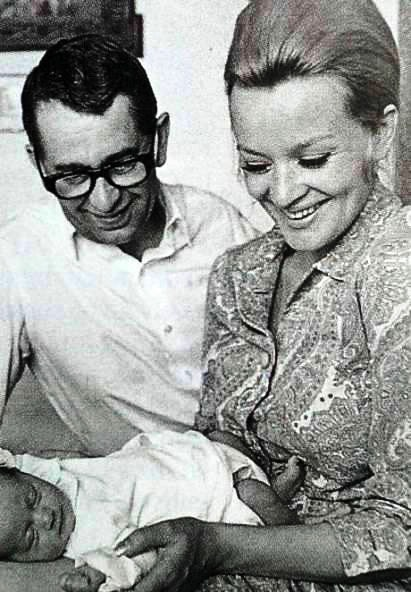 Milosh Forman and Jana Brejchova