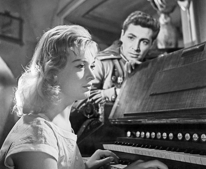 Still from Soviet-Czechoslovak film 1959 May stars