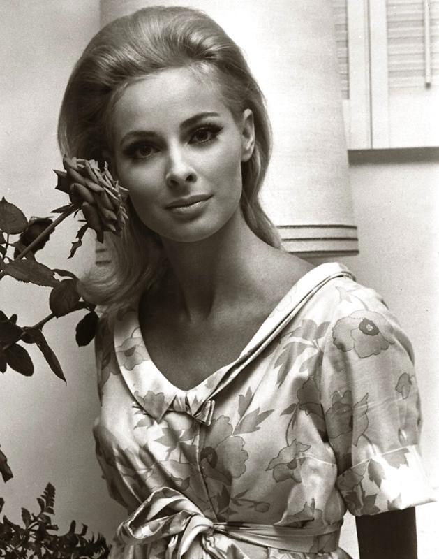 Blonde beauty Swedish actress Camilla Sparv