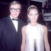 Michael Caine and Camilla Sparv
