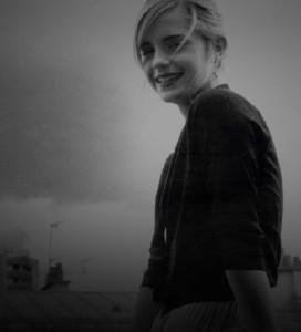 Fashion model and actress Emma Watson