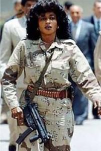 The female elite bodyguards of Libyan leader Muammar Gaddafi