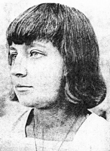 Russian and Soviet poet Marina Tsvetaeva