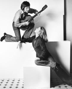 Vladimir Vysotsky and Marina Vlady