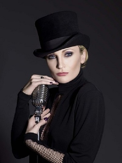 Beautiful French singer Patricia Kaas