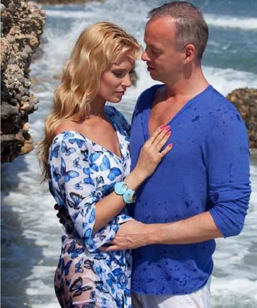 October 26, 2009, Olesya Sudzilovskaya married her son's father – businessman Sergei Dzeban