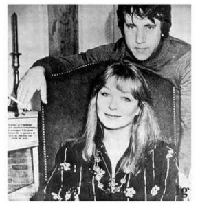 """Following the presentation, they were at a table in the restaurant. Vysotsky unceremoniously walked over to French diva, and said quietly: """"I've finally met you. I would like to leave here and sing for you. """""""