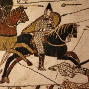 Closeup, Bayeux Tapestry