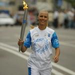 Russian tennis player Elena Dementieva