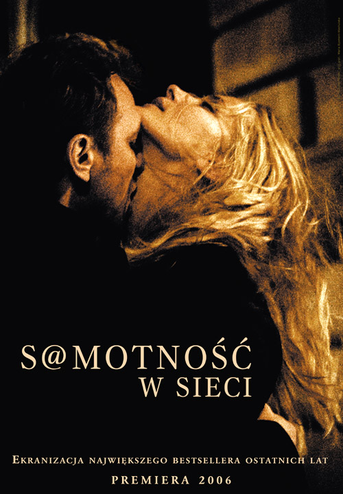 2006 film S@motnosc w sieci, Loneliness in the net. Movie poster