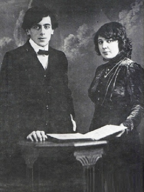 Marina Tsvetaeva and Efron