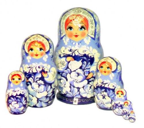 Traditional Russian nesting doll Matryoshka