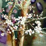 Painting by Korean artist Shin Jong Sik