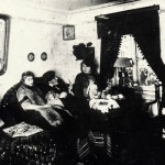 Sisters Tsvetayevs and S. Efron