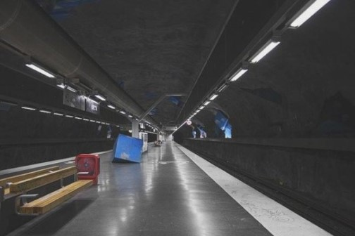 Stockholm Metro-longest art gallery in the world