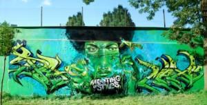 Graffiti in Russia