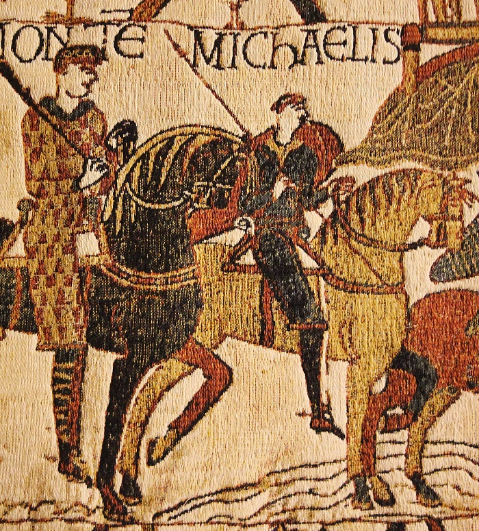 Stunning detail, Bayeux Tapestry