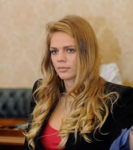 Russian swimmer Yuliya Yefimova - triple world champion