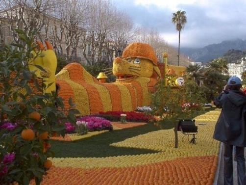 Menton lemon festival