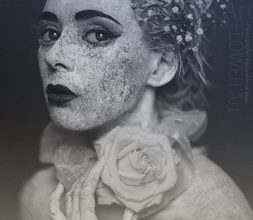 Fashion designer, stylist Julia Gvozdeva. Photoart by Russian photographer Maria Kuzmenkova, Moscow