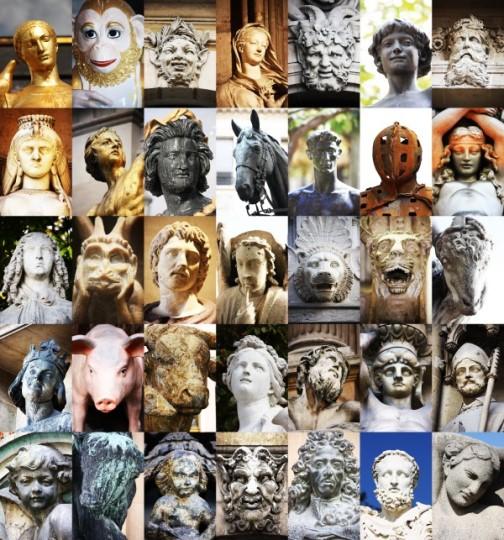 Faces of Paris by Marco Gervasio