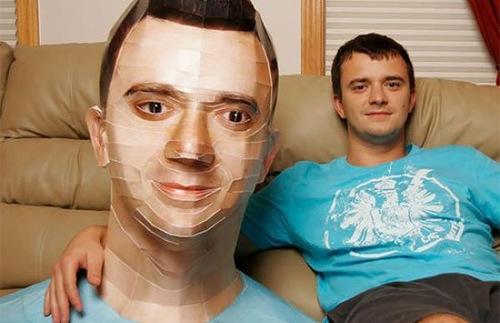 paper sculpture created by Taras Lesko