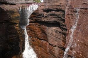 Crystal river - Colombian river located in the Serrania de la Macarena, province of Meta