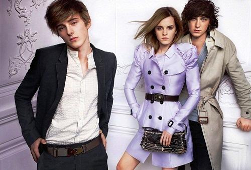 Emma Watson and Chris Watson