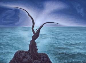 stunning illusion painting by Mexican artist Octavio Ocampo