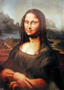 Iconic Mona Lisa
