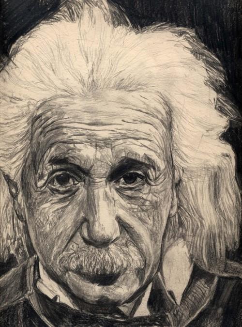 Illustration. Albert Eistein