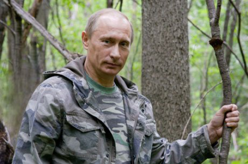 Protector of wildlife Vladimir Putin