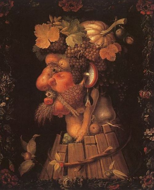Autumn, The Arcimboldo Effect
